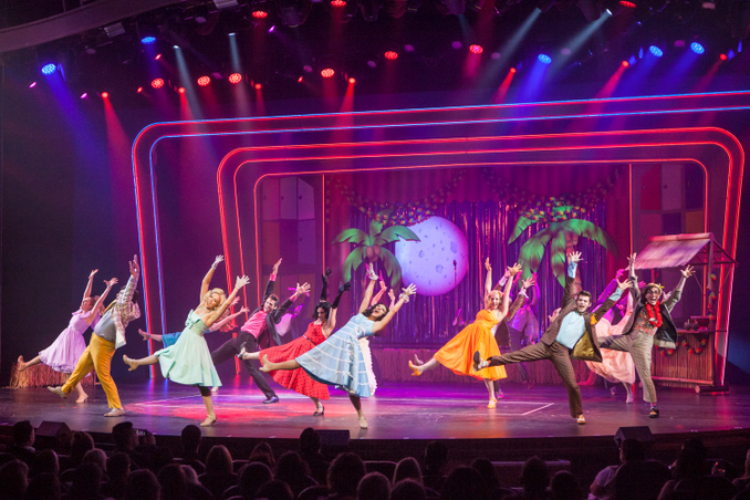 Lights, action, sequins – shipboard shows sizzle